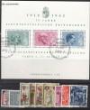 Liechtenstein Jahrgang 1962 komplett o