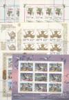 Russische F�rderation 6 verschiedene Kleinbogen 1993 ** ( K 39 )