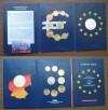 1. Euro Kursm�nzsatz 2002 mit Silber Gededenkmedaille