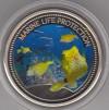 Palau 1$ Farbm�nze 2006  Kofferfisch