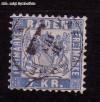 AD Staaten Baden Mi. Nr. 25 b o Wappen 7 Kr