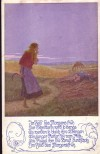 Feldpostkarte I. Weltkrieg Im Feld des Morgens fr�h (F12)