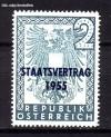 �sterreich Mi. Nr. 1017 Staatsvertrag 1955 **