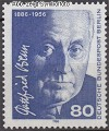 Berlin 1986 Mi. Nr. 760 ** Gottfried Benn
