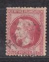 Frankreich Mi. Nr. 31 o  Napoleon 80 C