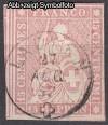 Schweiz Mi. Nr. 15 II Sitzende Helvetia 15 Rp o