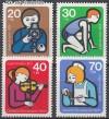 Berlin 1974 Mi. Nr. 468 - 471 ** Jugendarbeit