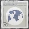 Berlin 1988 Mi. Nr. 817 ** Weltkarte