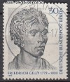 Berlin 1972 Mi. Nr. 422 o Friedrich Gilly