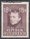�sterreich Mi. Nr. 802 Franz Grillparzer **
