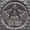 Bundesrepublik 5 DM M�nze in Noppenfolie stg 1979 Otto Hahn