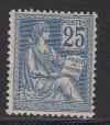 Frankreich Mi. Nr. 94 Typ II ** Darstellung