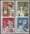 Berlin 1960 Mi. Nr. 193 - 196 o Berliner Kinder