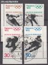 Bund Mi. Nr. 684 - 687 o