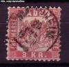 AD Staaten Baden Mi. Nr. 24 o Wappen 3 Kr