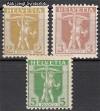 Schweiz Mi. Nr. 95 - 97 Tellknabe **