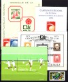 Fu�ball WM 1974 kpl. Ausg. S�damerika ** ( S 124 )