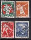 Schweiz Mi. Nr. 262 - 265 Pro Juventute 1932 o