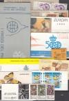 Westeuropa Lot 10 verschiedene Markenheftchen ** ( S 1035 )