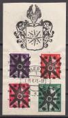 Lokalausgabe Perleberg Mi. Nr. 2 - 5 o auf Briefstück