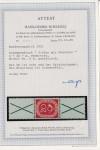 Bund seltene Posthornzusammendruck S 8 ** mit Attest