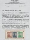 SBZ Thüringen Block 1 x F ( I ) ** Antifablock Farbfehldruck mit Attest