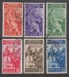Vatikanstadt Mi. Nr. 45 - 50 o  Juristenkongress 1935