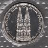 Bundesrepublik 5 DM M�nze in Noppenfolie stg 1980 K�lner Dom