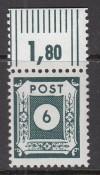 TOP Angebot  SBZ Mi. Nr. 43 C ** Versuchszähnung Oberrand