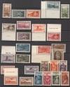 Saargebiet Mi. Nr. 179 - 205 ** 3 Ausgaben Volksabstimmung 1934