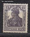 DR Mi. Nr. 101 a ** Freimarke Germania 15 Pf. Wz 1