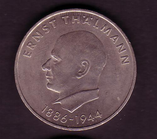 Ddr Gedenkmünze 20 Mark Ernst Thälmann 1971 Günstig Kaufen Im