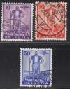 Schweiz Mi. Nr. 294 - 296 Pro Patria 1936 o