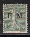 Frankreich Militär Feldpost Mi. Nr. 3 *  Auftruck F.M.