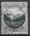 Lichtenstein Mi. Nr. 98 o Landschaft 25 Rp