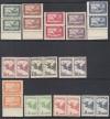 Ungarn Mi. Nr. 430 - 437 ** und 467 - 470 **  Flugpost 1927 / 1930 Paar