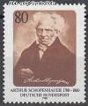 Bund Mi. Nr. 1357 ** Arthur Schopenhauer