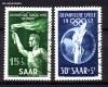 Saarland Mi. Nr. 314 - 315 o Olympische Sommerspiele