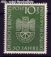Bund Mi. Nr. 163 ** Deutsches Museum