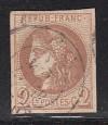Frankreich Mi. Nr. 37 a o Cereskopf 2 C