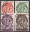 Sowjetunion Mi. Nr. 528 - 531 o  Iranische Kunst
