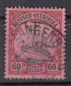 Deutsche Kolonien Deutsch-Ostafrika Mi. Nr. 29 o Schiffszeichnung  60 H