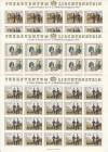 Liechtenstein Kleinbogen Mi. Nr. 1020 - 1022 ** Militärkontigent