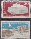 DDR Mi. Nr. 781 - 782 ** Herbstmesse 1960