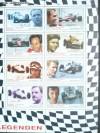 �sterreich Kleinbogen Mi. 2654 - 2661 Formel 1 Rennfahrer **