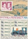 Schweden Jahrgang 1975 und 1976 jeweils ** in Jahrbücher