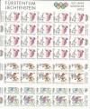 Liechtenstein Kleinbogen Mi. Nr. 1129 - 1131 **  Olymp. Sommerspiele