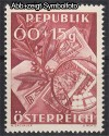 Österreich Mi. Nr. 946 Tag der Briefmarke 1949 **