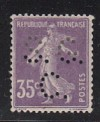 Frankreich Mi. Nr. 121 I x ** S�erin mit Lochung S.C.C.