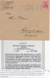 DR Briefrarit�t Mi. Nr. 86 I d auf Brief Einfachfrankatur Fotoattest